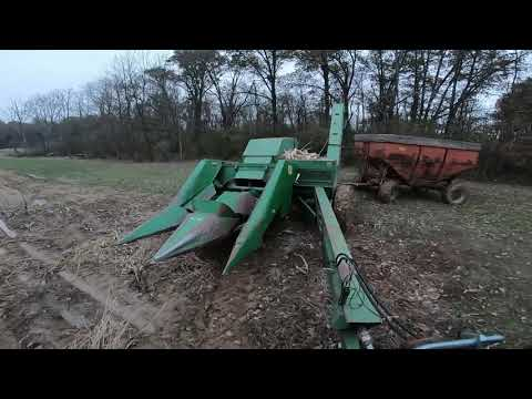 Pitfall Of Pull-Type Pickers, Opening A Field By Hand