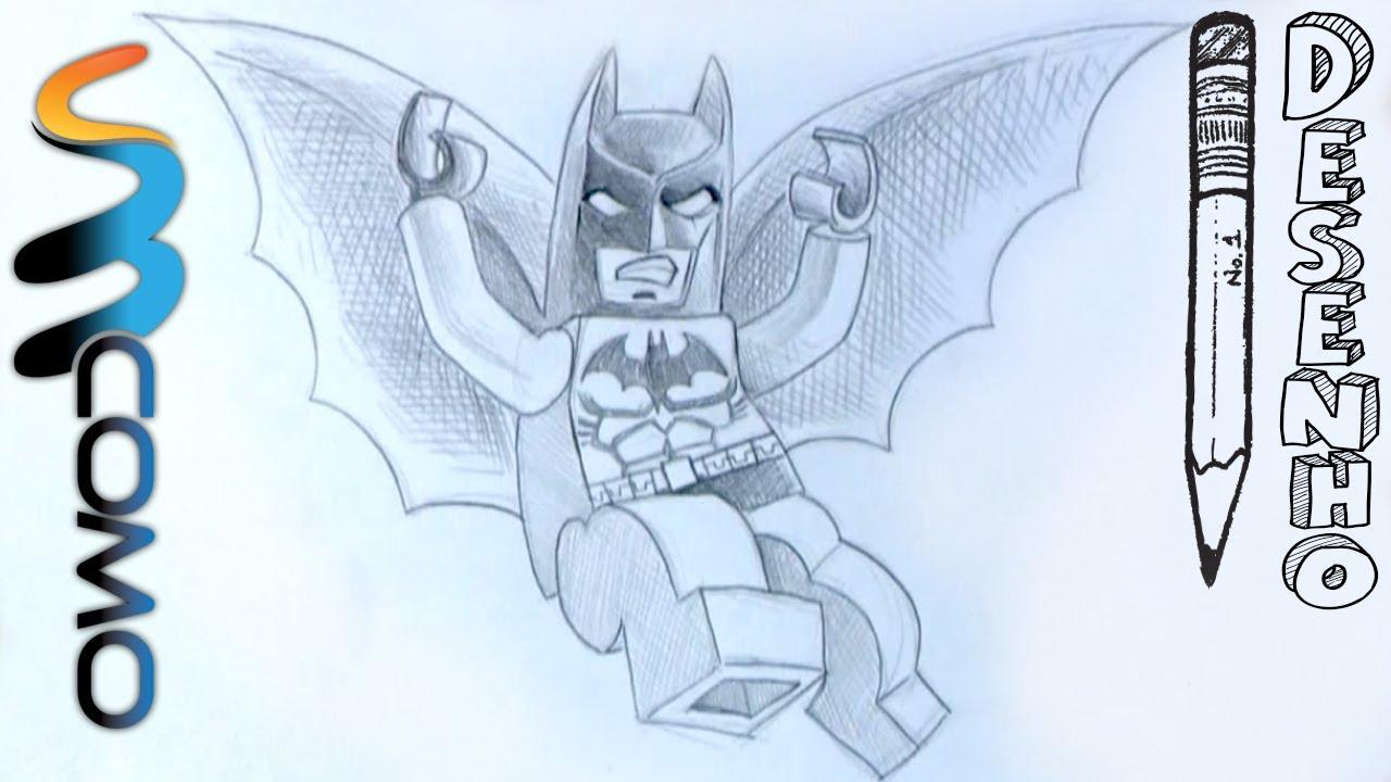 Desenhando O Batman De Uma Aventura Lego Youtube