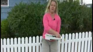 Installing A Picket Fence : How To Seal & Paint A Picket Fence