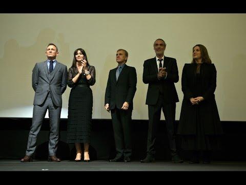 SPECTRE Italian Premiere Presentation - Daniel Craig, Monica Bellucci, Christoph Waltz, Sam Mendes