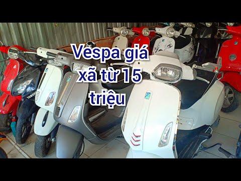 Vespa - Bán XÃ TỪ 15 TRIỆU - Vespa Fi Giá Rẻ - Có AB Và Nhiều Xe Tay Ga Khác   Bình Dương  Mỹ Phát