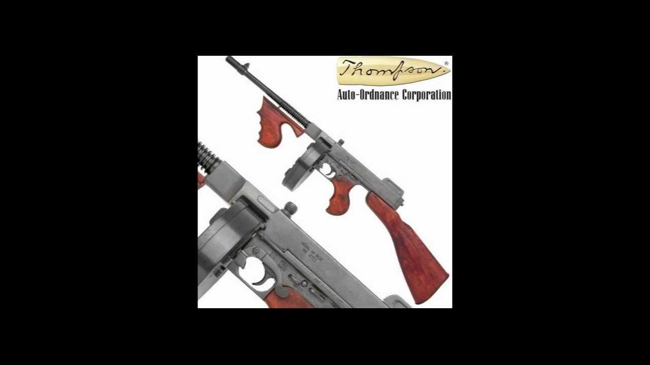 Tommy Gun Thompson M 1928 Replica Gun