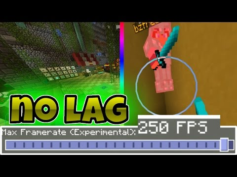 HOW TO REMOVE LAG IN MCPE – MCPE FPS Booster Texture Pack – Max Framerate in MCPE Only 1.0.0-1.0.6