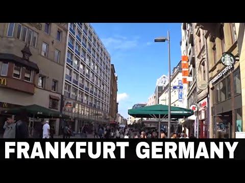 Frankfurt Germany - The Zeil