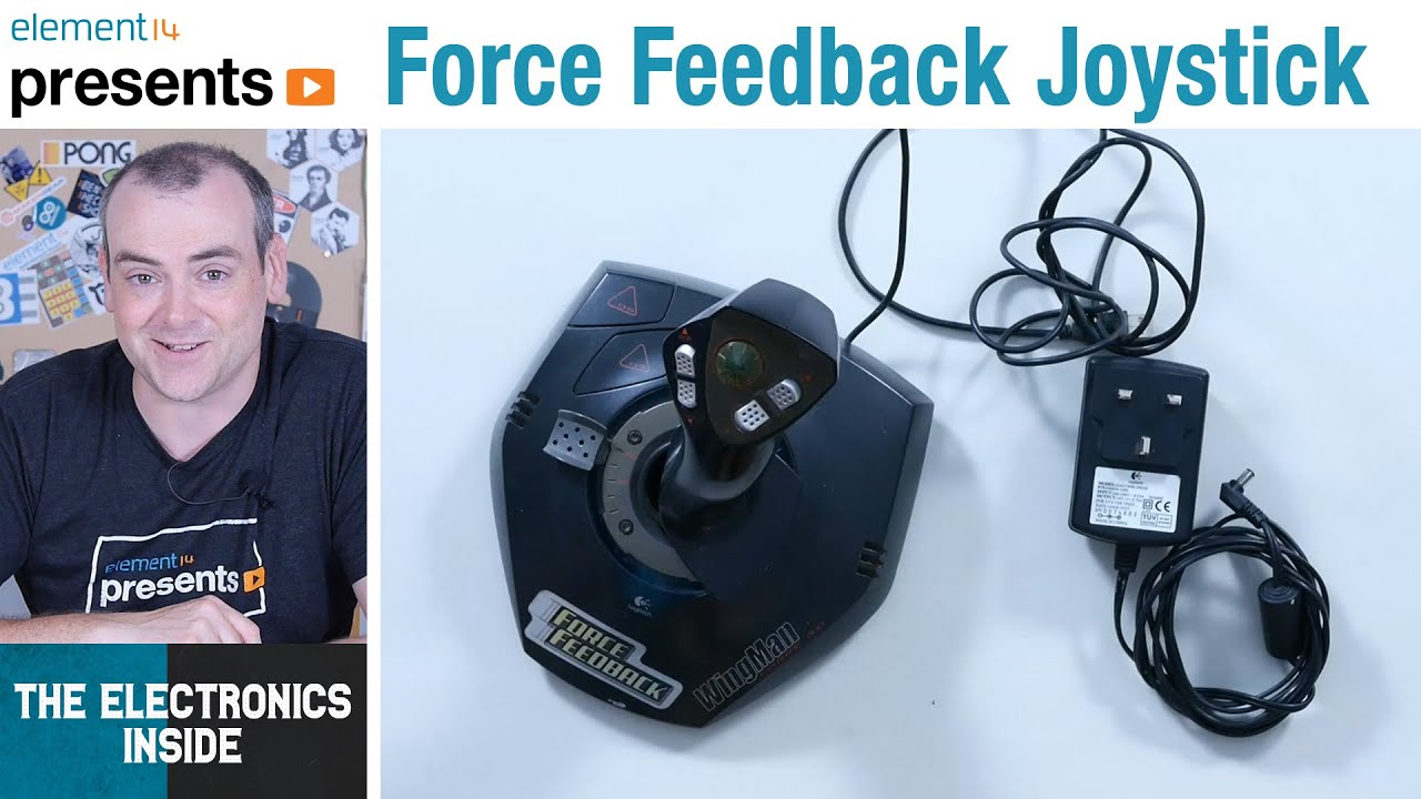 Force Feedback Game Controller - The Electronics Inside