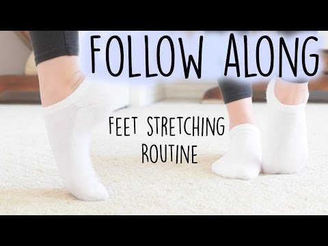How to improve your arch   feet flexibility