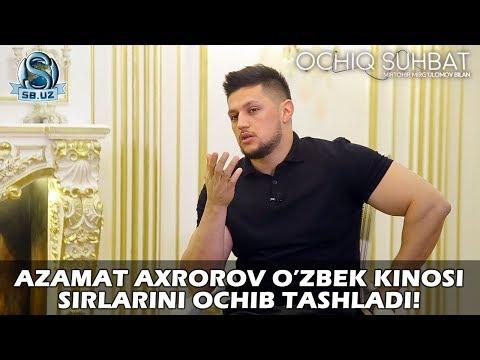 Azamat Axrorov O'zbek Kinosi Sirlarini Ochib Tashladi!