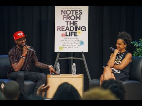 Notes from the Reading Life with Desus Nice and Rebecca Carroll at the Bronx Library Center