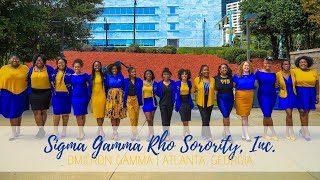 Sigma Gamma Rho Sorority, Inc. Omicron Gamma Chapter Spotlight