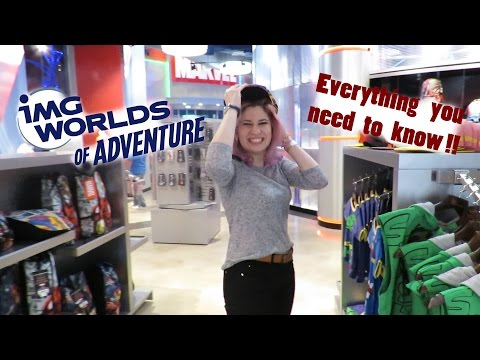 IMG WORLDS OF ADVENTURE DUBAI - All about the park and tips!!