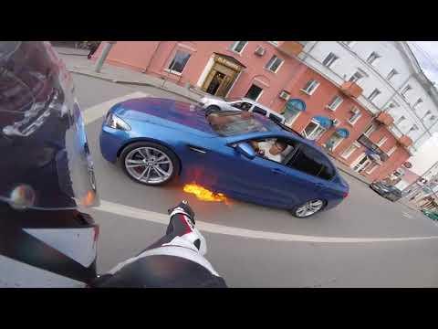 Горит BMW Пермь / Покатушки на мото