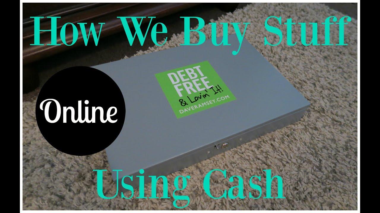 How We Buy Stuff Online Using Cash | Dave Ramsey Cash Envelope ...