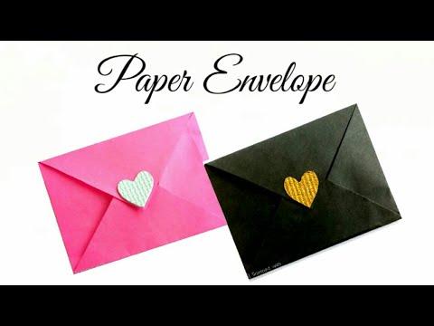 Paper Envelope || Origami Paper Envelope || Simple Crafts ||