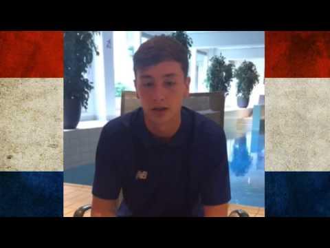 Holland Trip Video Blog: Rhys Williams on Day 9
