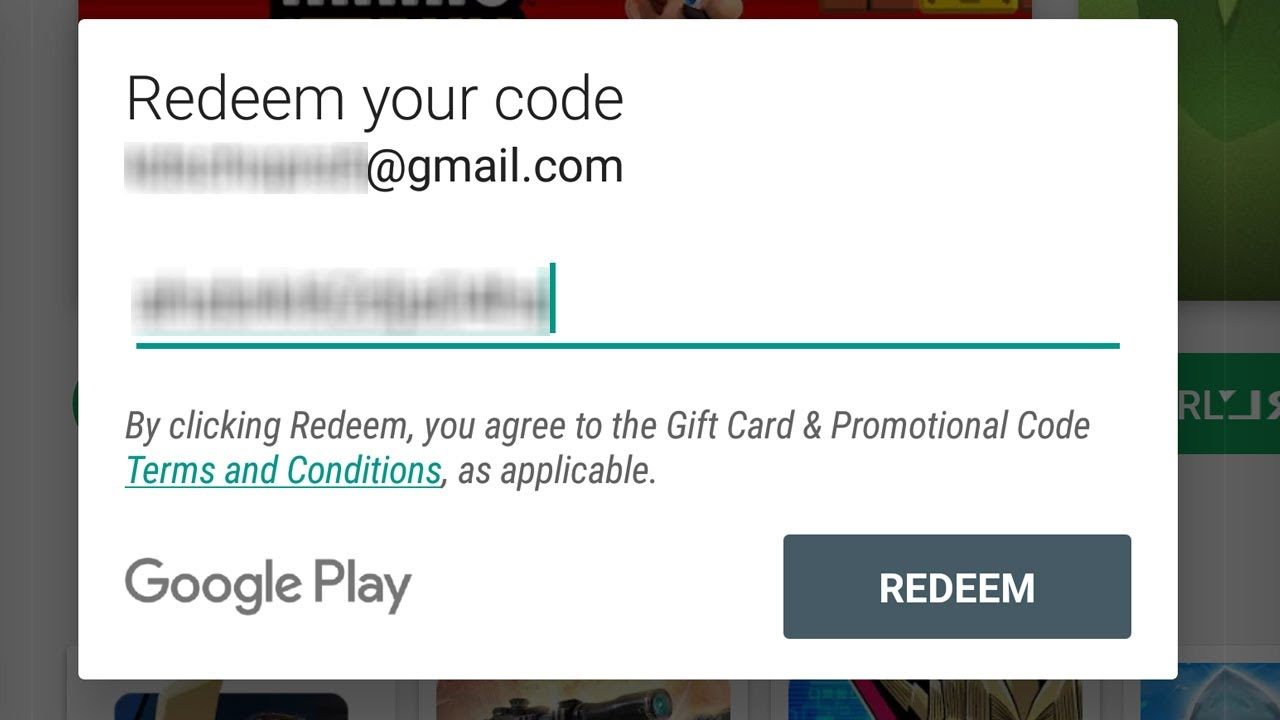 Get Free Play Store Redeem Code With PROOF - YouTube