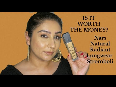 Nars Natural Radiant Longwear foundation review Stromboli thumbnail
