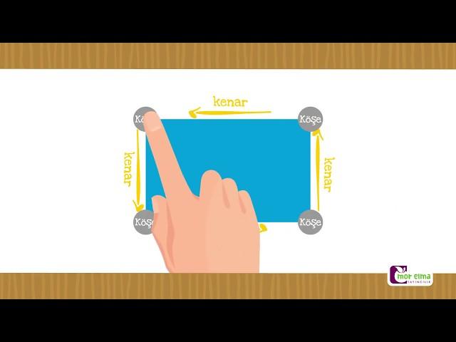 Dikdörtgen - Dikdörtgen Nasıl Çizilir - Okul Öncesi Eğitim
