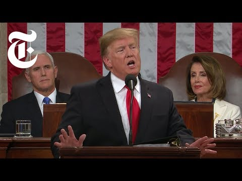 The Key Moments: President Trump's 2019 State of the Union Speech | NYT News