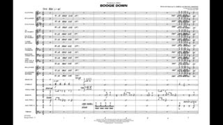 Boogie Down arranged by Paul Lavender