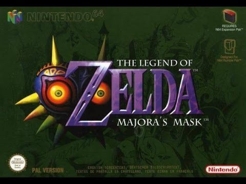 Both Versions Of Majora's Mask's Stone Tower Temple Theme Playing Simultaneously