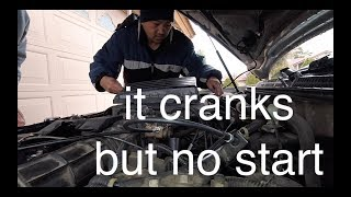 you can borrow only!! cranks over but no start Honda Accord√ Fix it Angel