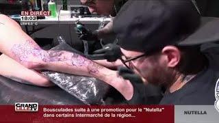 Lille Dans Les Coulisses Du Salon Du Tatouage Youtube