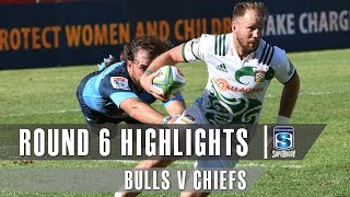 ROUND 6 HIGHLIGHTS: Bulls v Chiefs - 2019