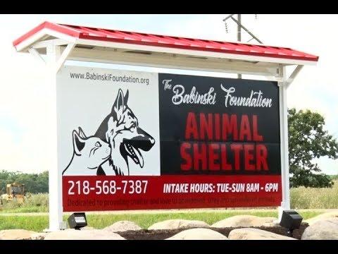 Babinski Foundation Animal Shelter Opens Its Doors In Pequot Lakes
