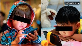 POR QUE NUNCA le DEBES DE DAR un TELÉFONO a un NIÑO PEQUEÑO