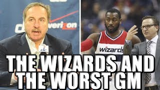 John Wall the Washington Wizards and the Horrible Disaster of Ernie Grunfield!