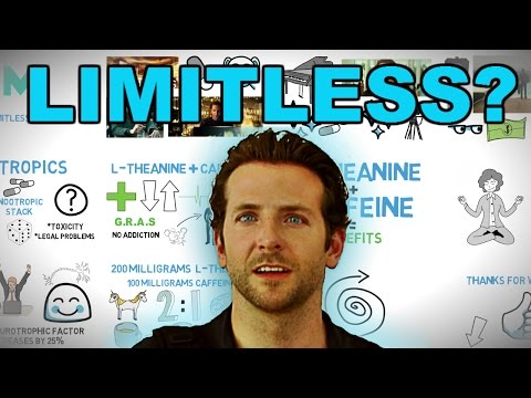 Pill like NZT from Limitless without risk L-Theanine and Caffeine nootropic stack