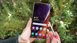 Samsung Galaxy Note 20 Ultra 5G Review Videos