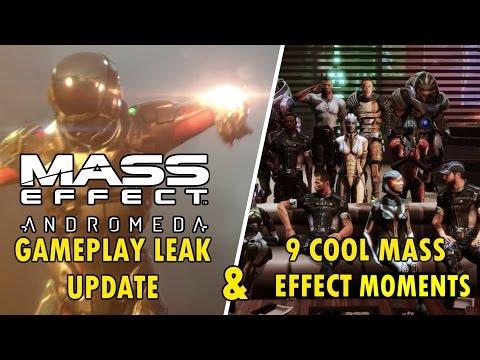 Mass Effect Andromeda Gameplay Leak Update & 9 Cool Mass Effect Secrets