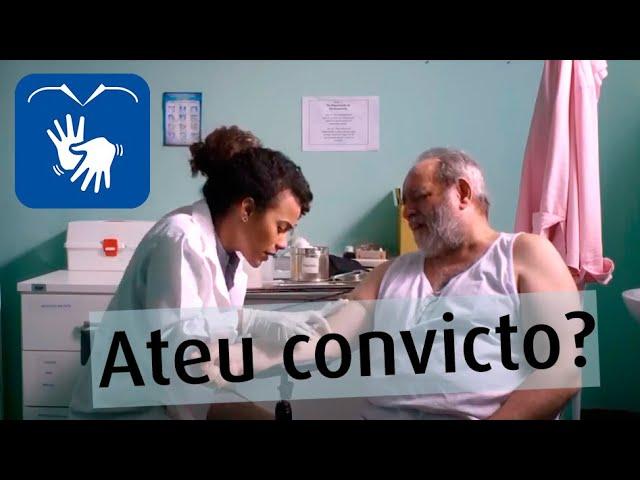 Ernestino, Ateu Convicto? Versão em LIBRAS. Comédia - Série de TV Fanáticas [CineBrasilTV]