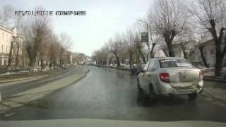 Копейск.26 марта 2016. перекресток Ильича и пр. Коммунистический