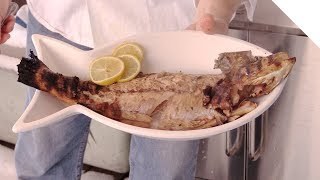 Simple grilled trout on the BBQ - Easy Recipe