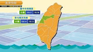 預報2020-07-11農業氣象,掌握氣象、掌握農事!