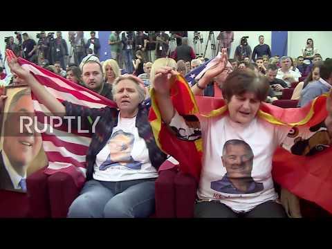 Montenegro: Milo Djukanovic wins presidential election