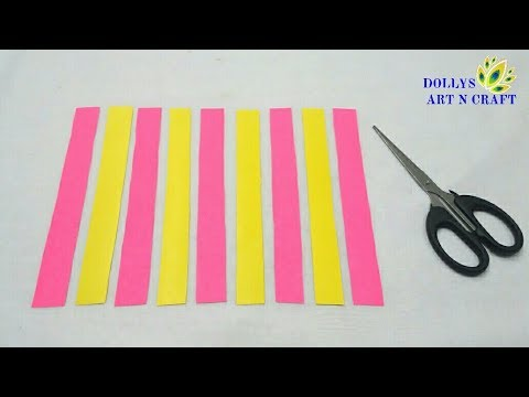 DIY Paper Wall Hanging | Wall Hanging Craft ideas with Paper | Easy & Simple Wall Hanging