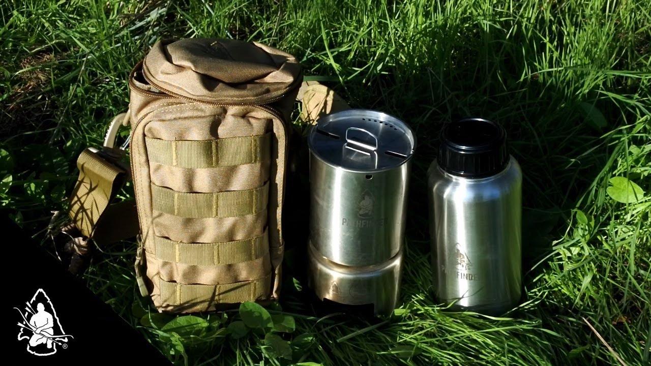 Pathfinder Bottle Cooking Kit (Parliamo di BUSHCRAFT - Ep ...