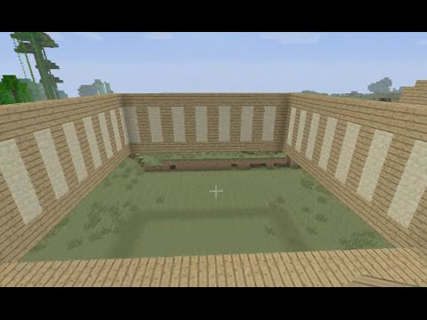 Building stampy 39 s house 31 starting the clubhouse wing for Building a house where to start