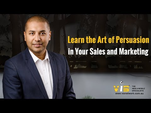 Learn the Art of Persuasion in Your Sales and Marketing