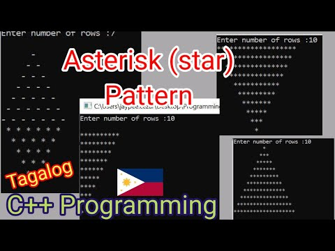 Review # 6 : Asterisk Pattern in C++ Programming | Successful Programmer