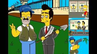 Parodian la fuga de El Chapo Guzmán en Los Simpson