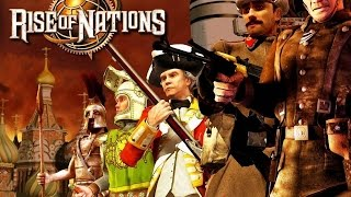 Rise of Nations- Gameplay PC THE BEST GAME EVER!