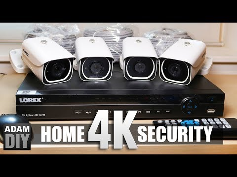 4K Home Security Camera Review – Lorex System