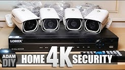 4K Home Security Camera Review - Lorex System