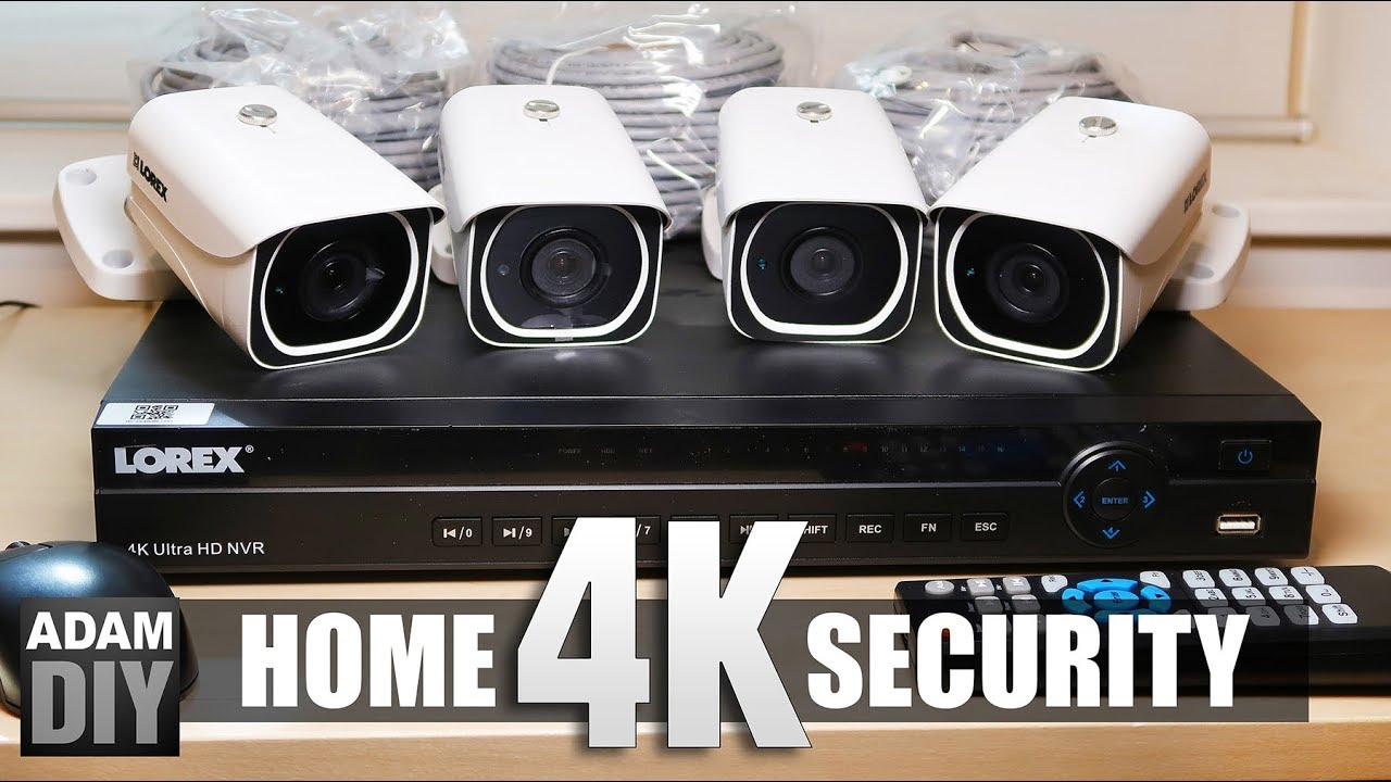 4k home security camera review lorex system youtube