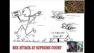 BEE ATTACK AT SUPREME COURT..NOMA!!!