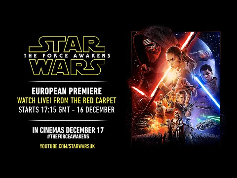 Star Wars: The Force Awakens European Premiere